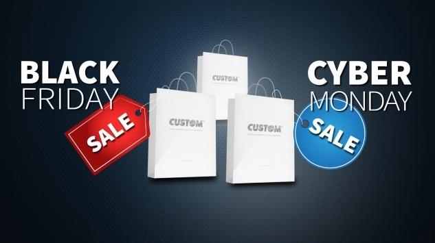 Black Friday e Cyber Monday: promozioni Custom Phone in arrivo!