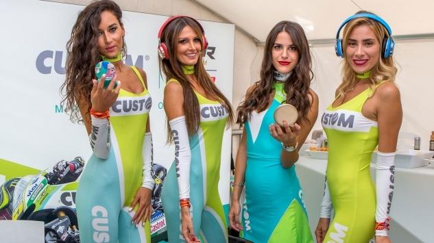 Lo spettacolo in pista al San Marino GP con la Custom Experience 2017